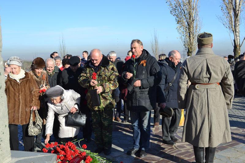Волгоградские чернобыльцы – 76-й годовщине контрнаступления.