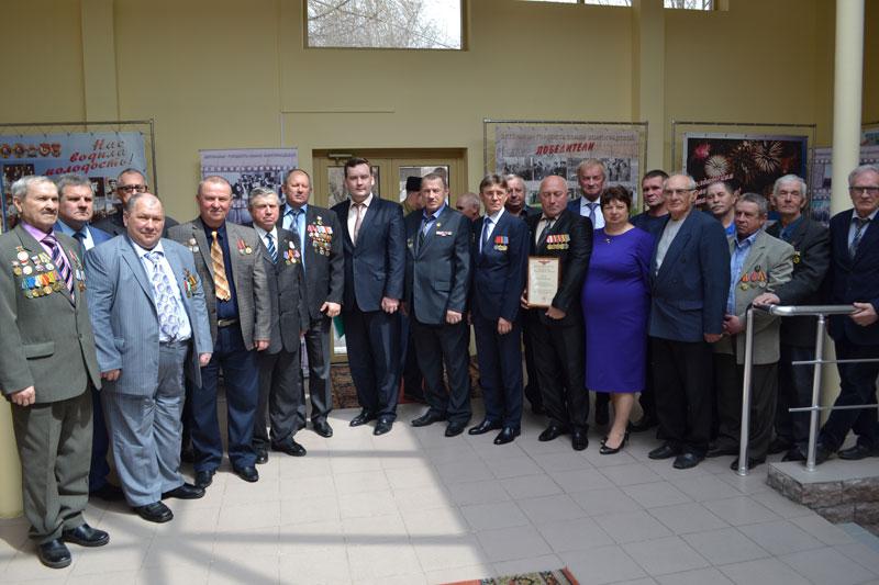 Волгоградские чернобыльцы