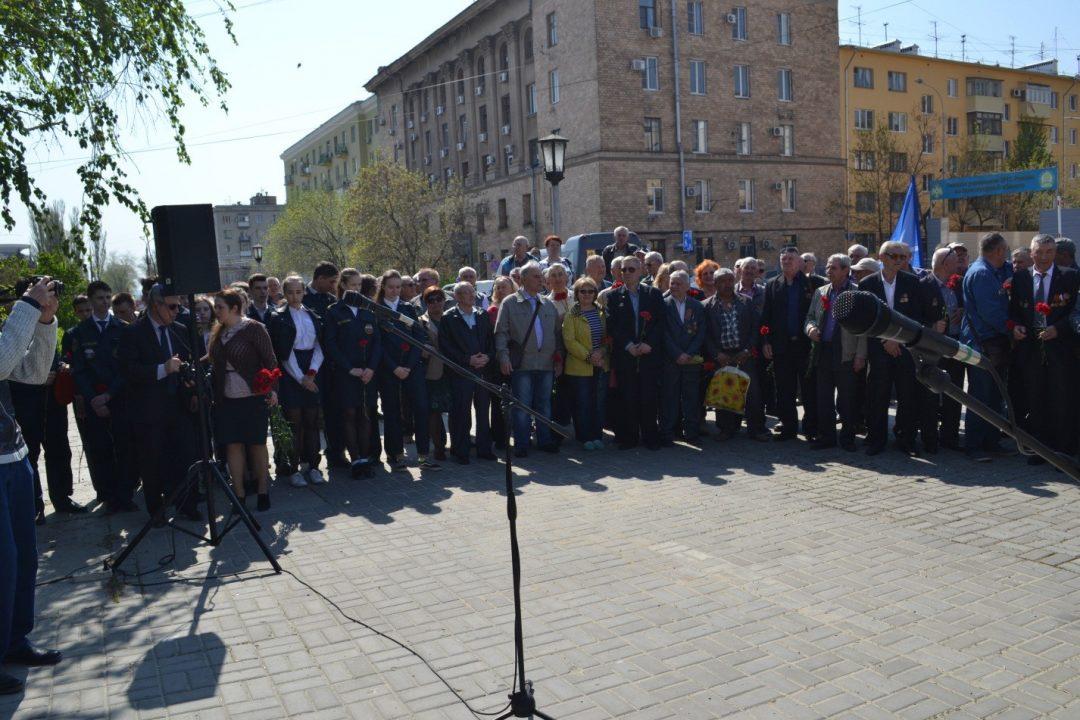 Акция памяти жертв чернобыльской катастрофы состоялась 26 апреля