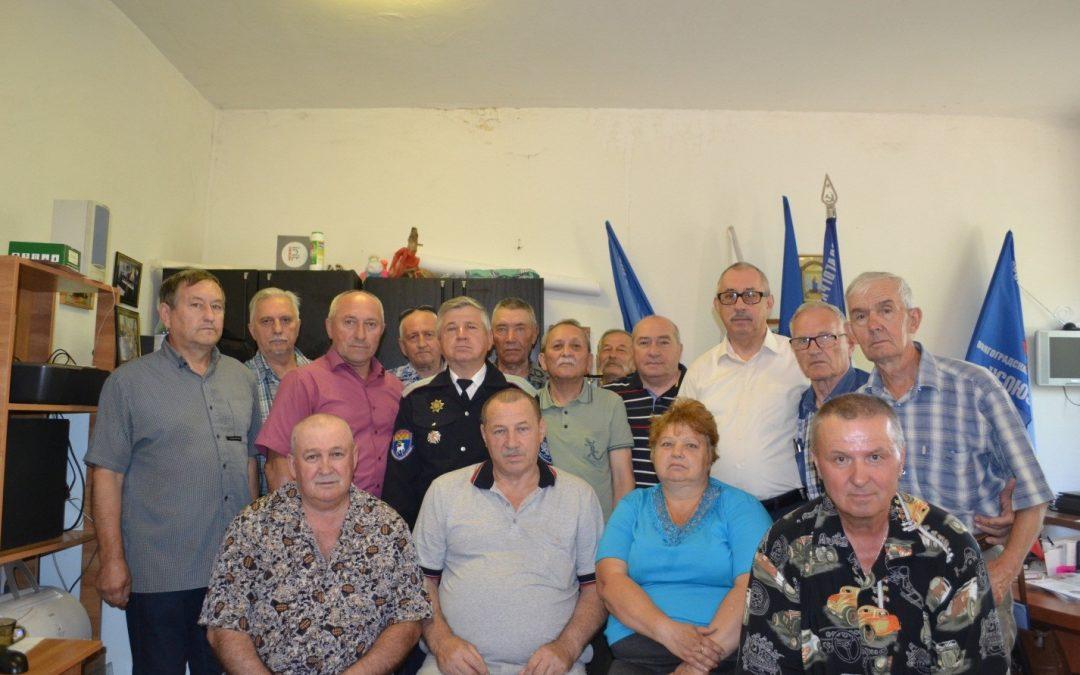 Фото Заседание союза чернобыльцев