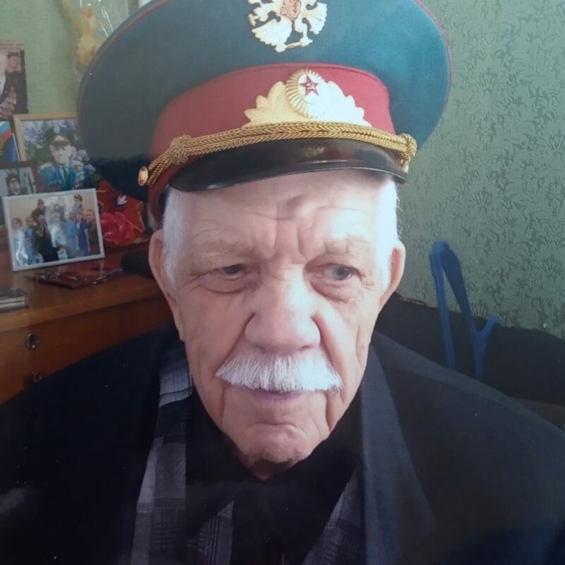 Подполковник Немцев Николай Федорович.
